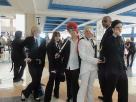FFVII:: Rufus Shinra and his Turks by DestructiveDoll