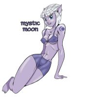 Commission: Mystic Moon Avatar by RobTorres