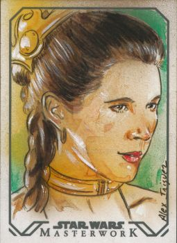 Princess Leia by AIart