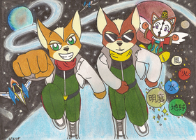 StarFox: Partner In Time by StarFox-Saiyan