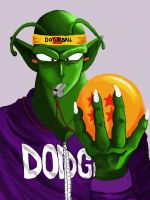 Dodge Ball Z COLOR by ShirePower