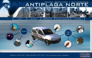 Antiplaga Norte - Website by punksafetypin