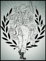 skinhead working class by cinges