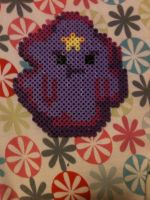 Perler/Hama Lumpy Space Princess by BitchinStitchins