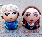 Quicksilver + Scarlet Witch Chibis by Comsical