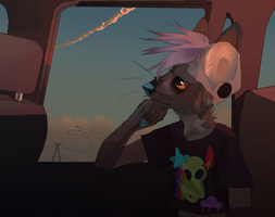 on the highway by ev-oo