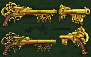 Steampunk Keygun by HeatherBomb
