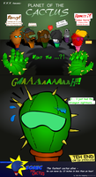 VVV - planet of the cactus by UltraTheHedgetoaster