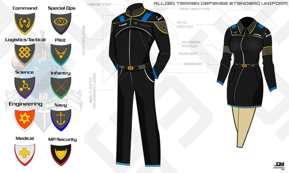 ATD Space Military Uniform by Apocryphea