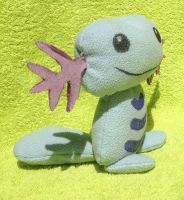 Selmade Pokemon Wooper plush :3 by kovuification