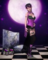 Punky Reverie by RavenMoonDesigns