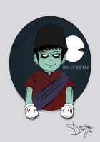 UNYIL THE ZOMBIE by ndrienugrie
