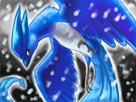 Articuno snow by Togechu
