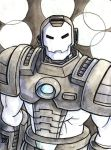 Sketchcard MvsC War Machine by fedde