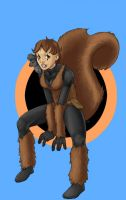 Squirrel Girl by kaileighblue