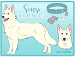 SANSA - Reference Sheet by danyhund
