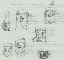 Stephano Doodles :I by Sammi-Arts