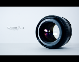 Nikkor 50 mm by DoubbleD