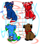 Soda pups 5 POINTS by Storm-adopts-13