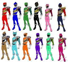 12 Kyoryuger - My Ideal by LavenderRanger
