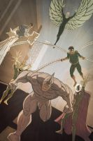 The Sinister Six by Juggertha