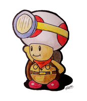 Captain Toad: Treasure Tracking by Tufsing