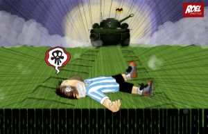 German vs Argentina by roelworks