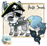 (Open) Pirate Shark SoulFox Adopt Auction! by SetSaiI