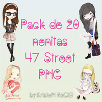 Pack de 20 nenitas 47 Street by RoohEditions