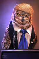 USA elections 2016 - Donowl Trump by 4steex