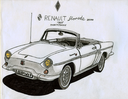 Renault Floride Spider by BlackLeatheredOokami