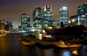 canary wharf   dock by spurs06