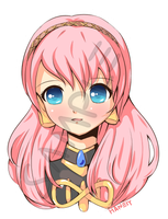 Luka Megurine Button by haneiy