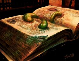Book Maggots by ivanev