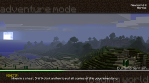New MC Loading Screen Concept by buggy715