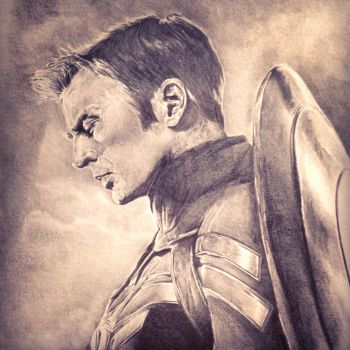 Captain America: The Winter Soldier by PatrickRyant