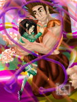 Vanellope and Ralph Love Update by artboy-2