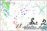 Splatterdots Set 2 - 7.0+ by Jaejoong