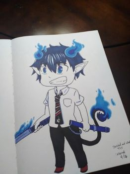 Marker test (Rin Okumura) by FgtMgt