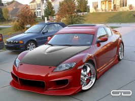 Mazda RX8 for Classic-Club by odyar