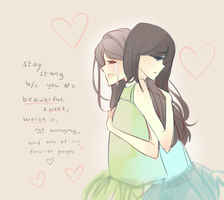 Stay Strong //heart/ by cherriluu
