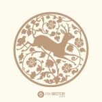 Free vector deer illustration by pixsector