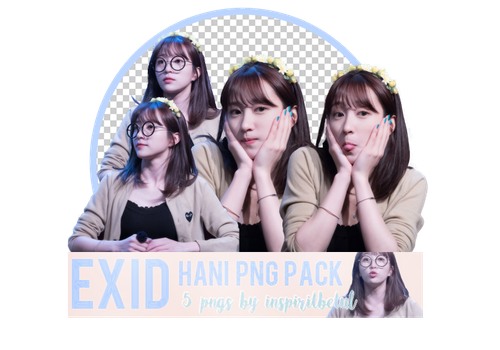HANI #EXID# PNG PACK by inspiritbetul