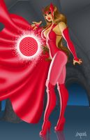 SCARLET WITCH - HEX APPEAL by EricLinquist