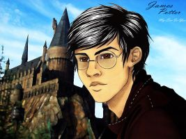 James Potter Prongs Tribute by My-Sin-Is-You