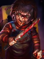 Chucky commision by alejowar