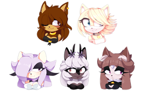 Batch of babes!!! by Mommy-Senpai
