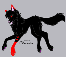 Assasin wolf form by QuestionTheDragon