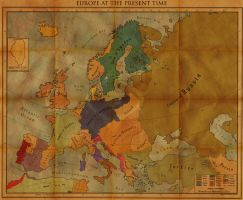 'Europe at the Present Time' by Alt-Reality