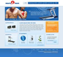 Mockup for fitness equipment by harkalopchan